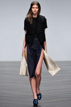 London Fashion Week Fall 2013 Emilio de la Morena