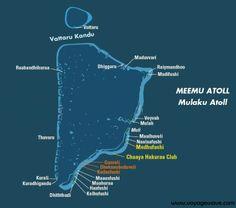 Map of Faafu Atoll Maldives A t o l l F a a f u Pinterest