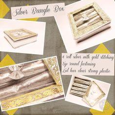Other Women's Accessories Bangle Box, Bracelet Box, Gold Bangle Bracelet, Silver Bangles, Other Woman, Women's Accessories, Stuff To Buy, Ebay