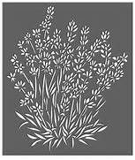 Giant Hogweed Queen Anne's Lace Stencil | stenciles | Pinterest