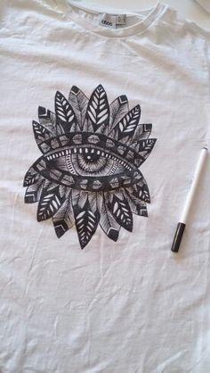 Diy t shirt inspired by felicity palmateer