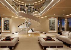 Home Decoration For Living Room Yacht Design, Yacht Interior, Interior Design, Dream Home Design, House Design, Futuristic Furniture, Futuristic Bedroom, Decorating Blogs, Modern Bedroom