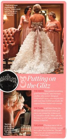 Carrie underwoods dress wedding pinterest carrie wedding and carrie underwood wedding makeup junglespirit Choice Image