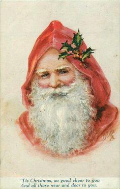 Portrait Père  Noël