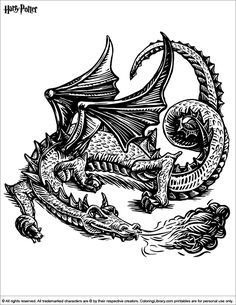 208 Best Harry Potter coloring