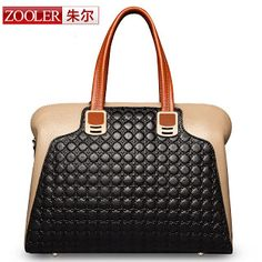 (NEWS! All three colors are available.)ZOOLER BRAND Genuine Leather bag bags Handbags women Shoulder bags OL Style women bag (32354808958)  SEE MORE  #SuperDeals