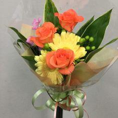誕生日用の花束を作成しました 4078902