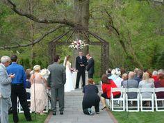 Outdoor Wedding Penn's Pavillion
