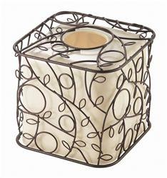 Twigz Boutique Box Vanilla/Bronze #hiddentreasuresdecorandmore