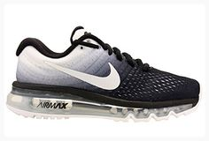 Nike Womens Air Max 2017 Running Shoes Black/White 849560-010 Size 9.5 (*Partner Link)