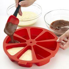 #Cake #portion #baking #pan