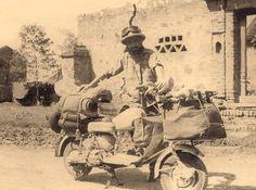 chilometri di parole in Vespa - Lorenzo205: In India con la mia Lambretta