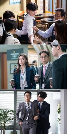 """""""While You Were Sleeping"""" Reveals Funny New Looks At Lee Jong Suk's Character In Preview Stills 