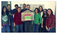 El equipo de Aptent del Parque UC3M de Madrid apoyando el Día Mundial del Teatro