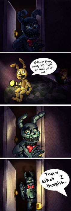 ✨{GTFO Nightmare Bonnie by TristaStrange01 on DeviantArt!}✨