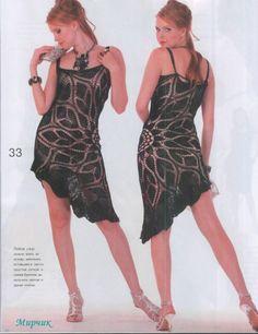 Салфеточные платья (платья -на основе салфетки). | Волшебный паучок +