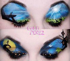 amazing disney eyeshadow part 2