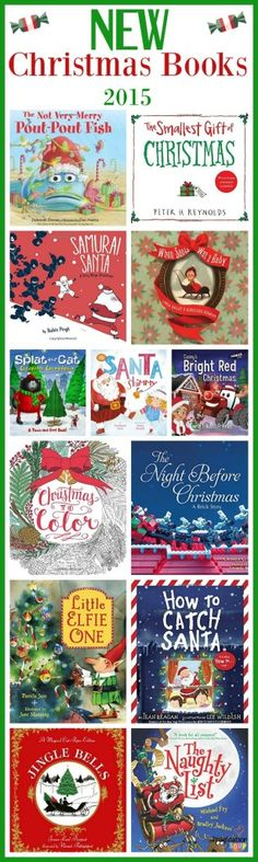 lots of good books -- new Christmas books 2015