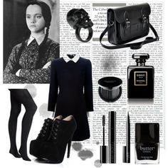 """""""Wednesday Addams"""" by lilyshipwreck on Polyvore"""