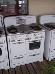 vintage  stoves | Antique Vintage Un-Finished Stoves