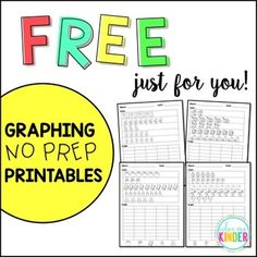 Free Graphing Printables for Little Learners