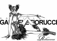 Omaggio a Rihanna. Con amore. ❤️  Tribute to @RIHANNA @badgalriri Loving You ❤️  www.gabrielefioruccishop.com www.gabrielefiorucci.com  #rihanna #badgalriri #music #fashion