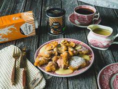 Kaiserin Sissi wäre diesem Gericht bestimmt verfallen: Warmer Kaiserschmarrn mit einer herrlich süßen Vanillesauce ❤ Jetzt probieren!