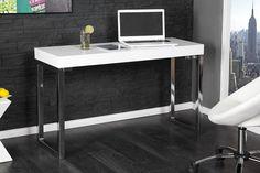 Laptoptisch WHITE DESK weiss Schreibtisch Arbeitstisch Bürotisch Tischsparen25.com , sparen25.de , sparen25.info