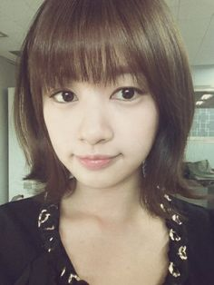 Jung So Min. I love her hair like this! So cute! Korean Celebrities, Celebs, Jung So Min, Girl Short Hair, Korean Actresses, Her Hair, Kdrama, Love Her, Short Hair Styles