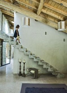 this is a great love the way it goes over the hall below........stairway Items by designbird