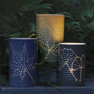 I'm going to do this and put citronella candles in it to chase away mosquitoes!