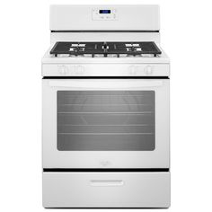 Whirlpool 30-inch Freestanding Gas Range with Broiler Drawer (White) (Plastic)