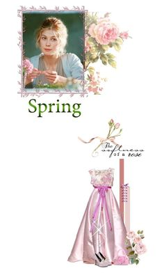 """""""Battle of the Jane Austen Heroines - Round 4: Spring Flowers"""" by fashionqueen76 ❤ liked on Polyvore featuring Retrò and BOTJAH01"""