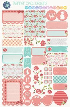 KT301 - Shabby Chic Weekly Kit