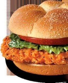 Had this for dinner tonight! So good… Copycat Wendy's Spicy Chicken Sandwich. Had this for dinner tonight! So good! Wendy's Chicken Sandwich, Spicy Chicken Sandwiches, Spicy Fried Chicken, Breaded Chicken, Grilled Chicken, Spicy Recipes, Copycat Recipes, Cooking Recipes, Snacks
