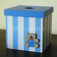 Caja para pañuelos o algodon