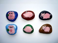 *Bemalte Steine als Mitbringsel für verschiedene Anlässe wie Besuch oder Geburtstag oder einfach nur so*  _Der Preis gilt für einen Stein. Bitte die gewünschten Steine bei der Bestellung...