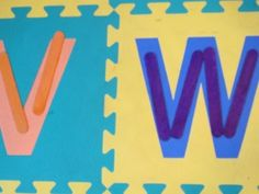 Popsicle Sticks Preschool Letters, Numbers & Colors