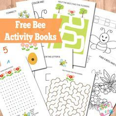 Free Printable Bee Activity Books