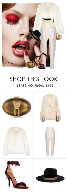 """Lush life..."" by katelyn999 ❤ liked on Polyvore featuring Thalé Blanc, Chloé, Delpozo, Givenchy, Janessa Leone and Balmain"