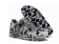 Nike Air Max 90 Camo Gris New Chaussures Homme Air Max Lite