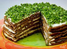 The most delicious liver cake! Garlic Recipes, Avocado Recipes, Lunch Recipes, Seafood Recipes, Easy Cake Recipes, Low Carb Recipes, New Recipes, Cake Recipe Food Network, Food Network Recipes
