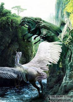 Horse, Pegasus
