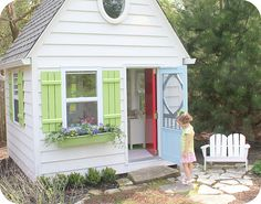 1000 Images About Playhouse Ideas On Pinterest Storage