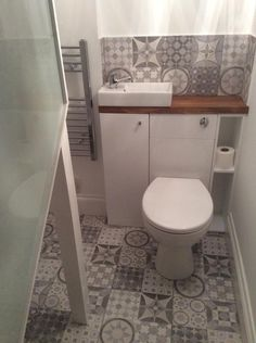 Our new understairs toilet.