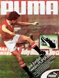 The Football Attic: Puma ads (Manchester United), circa 1978