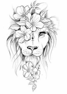 Tattoo Life, Tattoo Set, No Love Tattoo, Stencils Tatuagem, Tattoo Stencils, Tattoo Drawings, Body Art Tattoos, Art Drawings, Leo Lion Tattoos