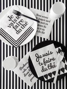 【楽天市場】Teatime Napkin(ティー)【monotone モノトーン 白黒 デザイン ペーパーナプキン 紙ナプキン シンプル フランス フレンチ タイポグラフィー デコパージュ】:mon・o・tone 楽天市場店