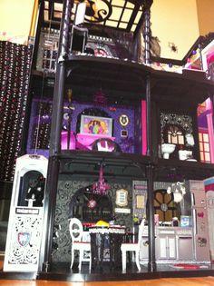 Barbie Dream House Make-Over for Monster High