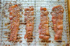 Praline Bacon...sweet, smoky, nutty, salty delicious!